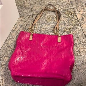 Handbags - Michael Kors  Hot Pink Patent Leather bag